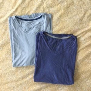Banana Republic XL soft wash tees - lot of 2